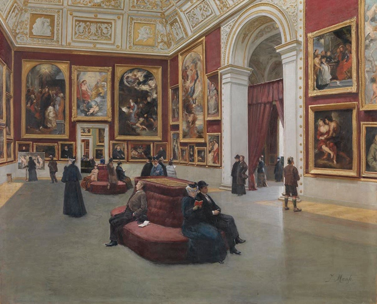 Der Rubenssaal in der Alten Pinakothek