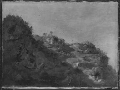 Italienische Landschaftsstudie
