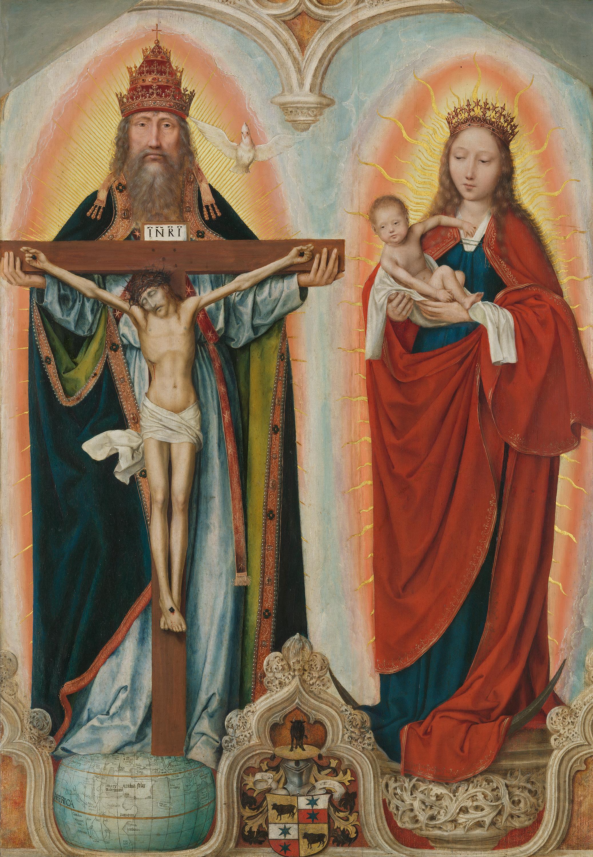 """Rem-Altar: Heilige Dreifaltigkeit (""""Gnadenstuhl"""")"""