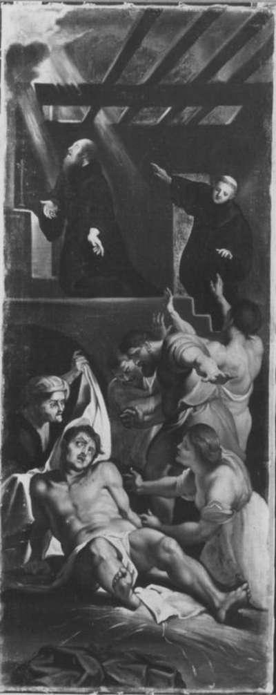 Totenerweckung des hl. Hieronymus