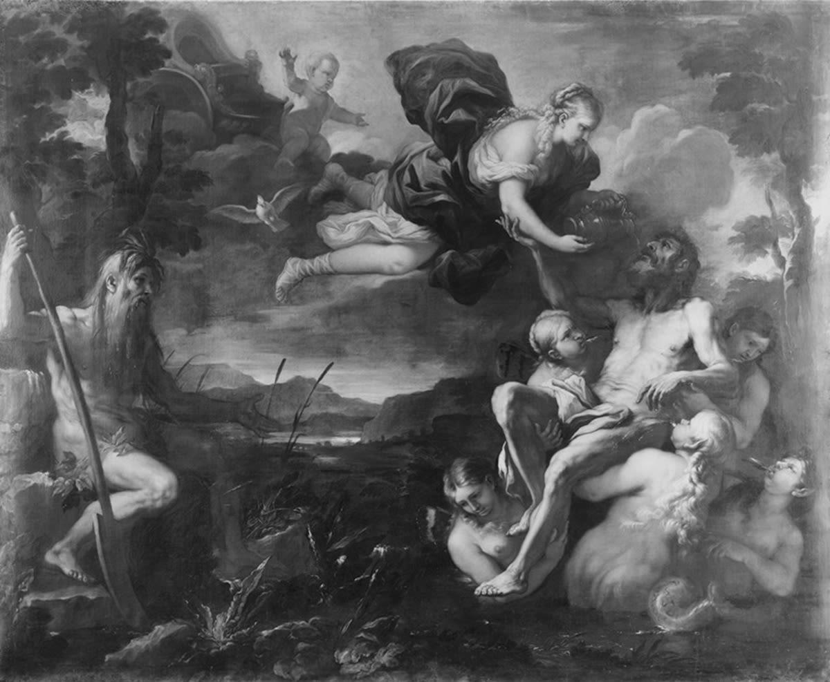 Aeneas am Numicius