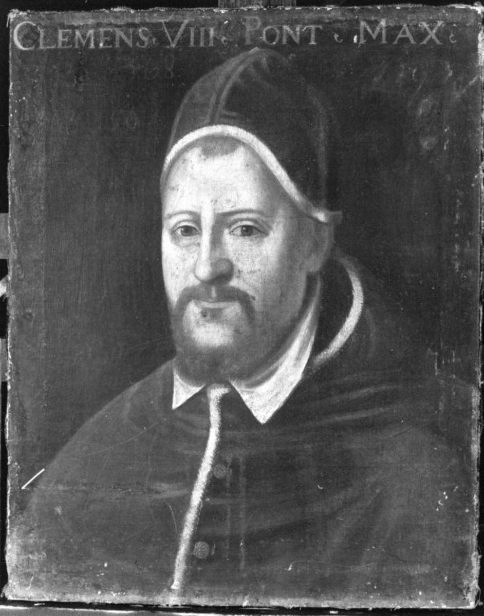 Bildnis des Papstes Clemens VIII. Aldobrandini