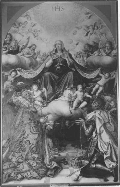Maria in der Glorie