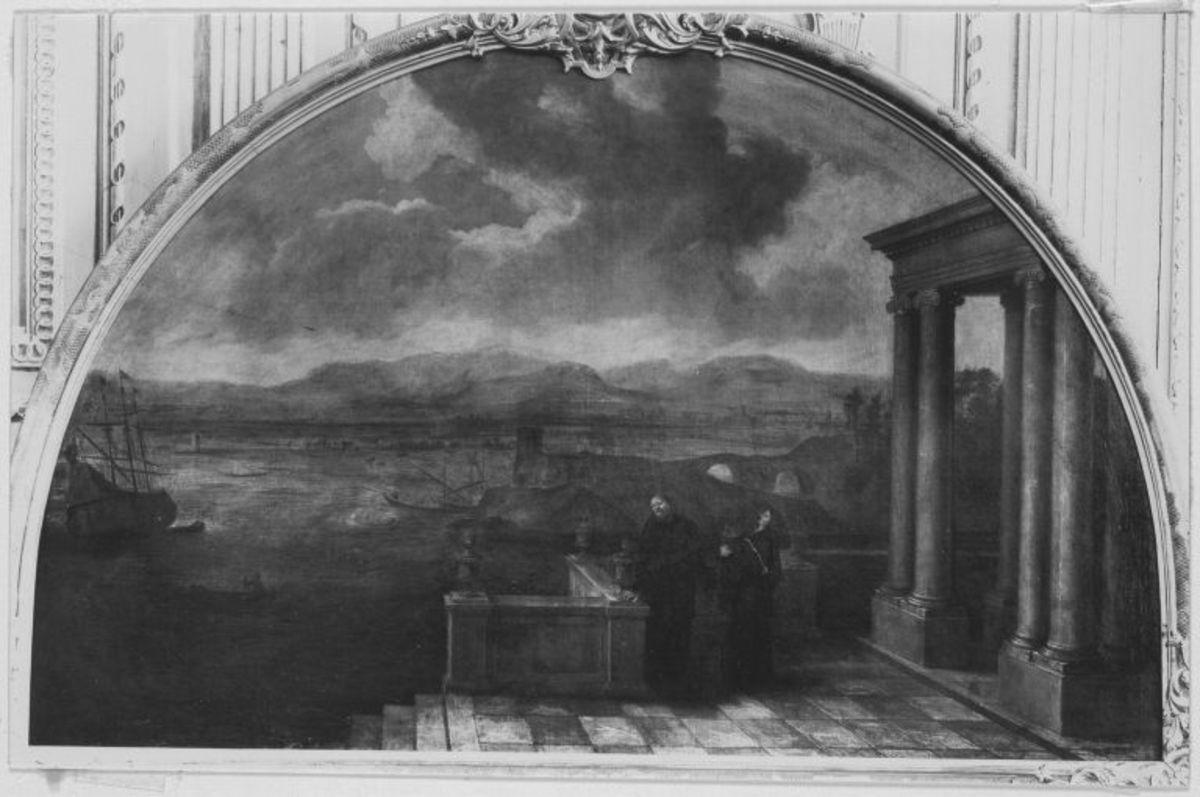 Der hl. Augustinus mit der hl. Monika