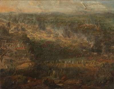 Die Schlacht bei Leopol (Lemberg, Lwow), 1675