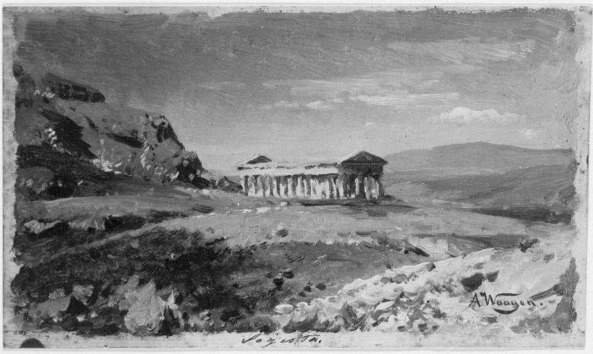 Der Tempel von Segesta