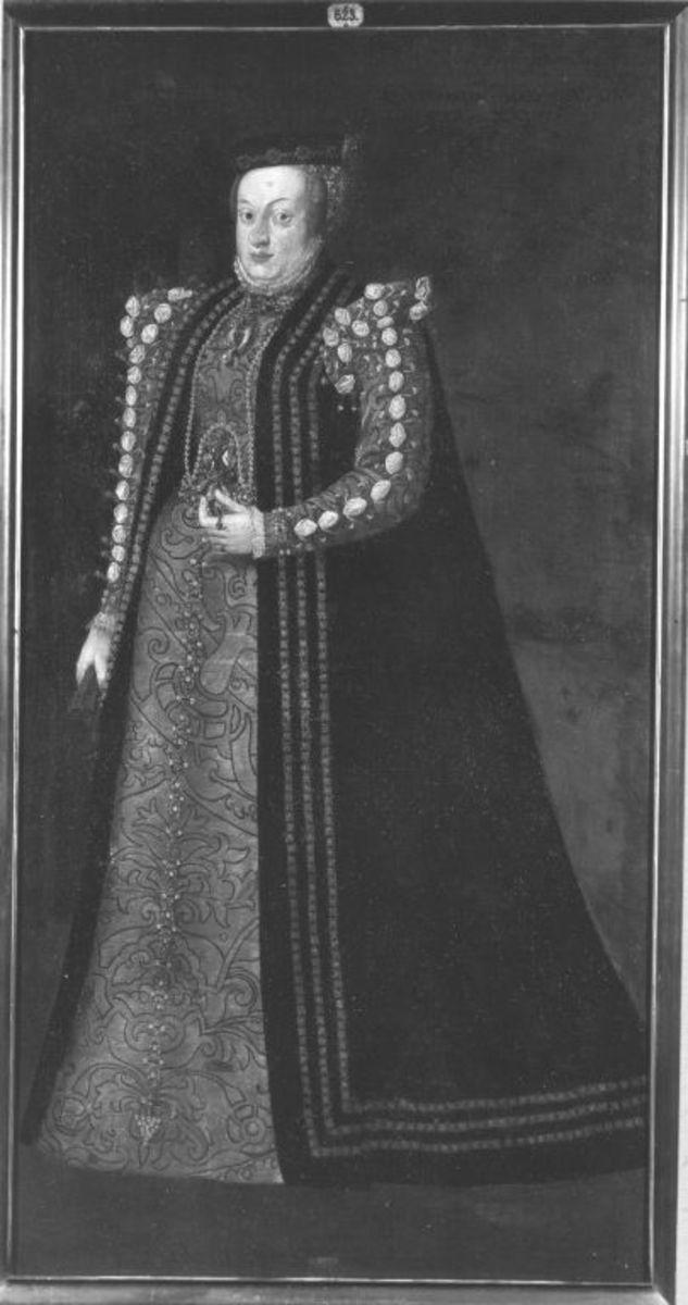 Bildnis der Erzherzogin Katharina von Österreich, dritte Gemahlin des Königs Sigismund II. August von Polen