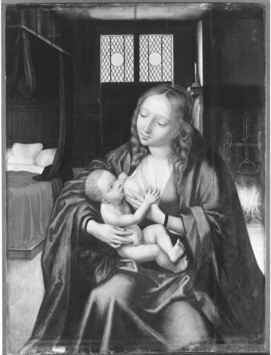 Maria mit Kind (Kopie nach einem verlorenen Original)