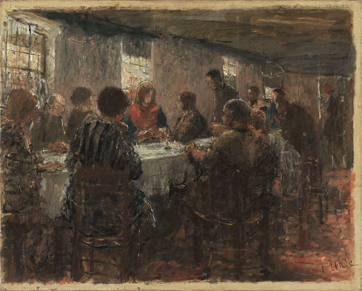 Abendmahl (Skizze)