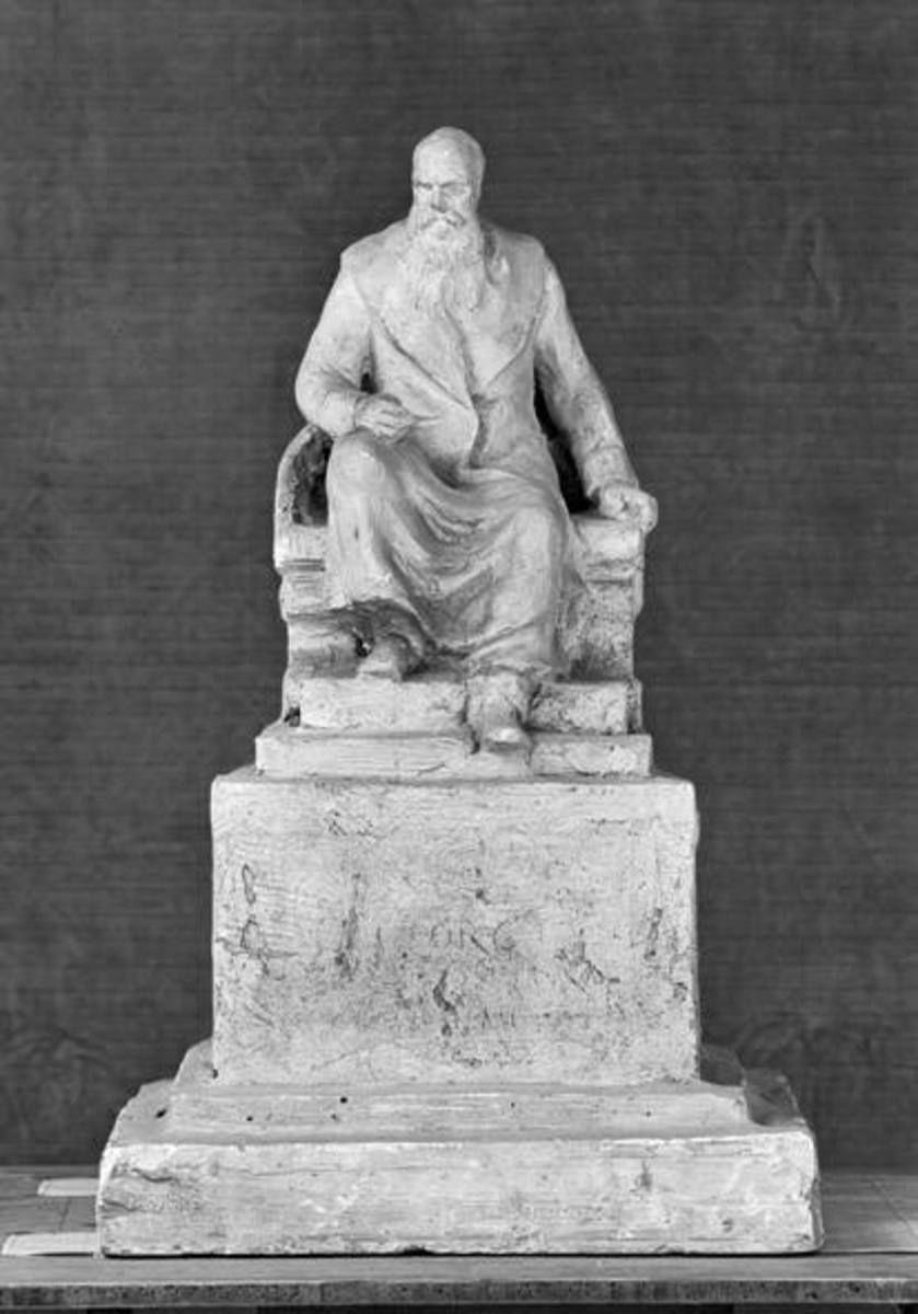 Bozzetto für ein Denkmal von Herzog Georg II. von Sachsen-Meiningen in Meiningen