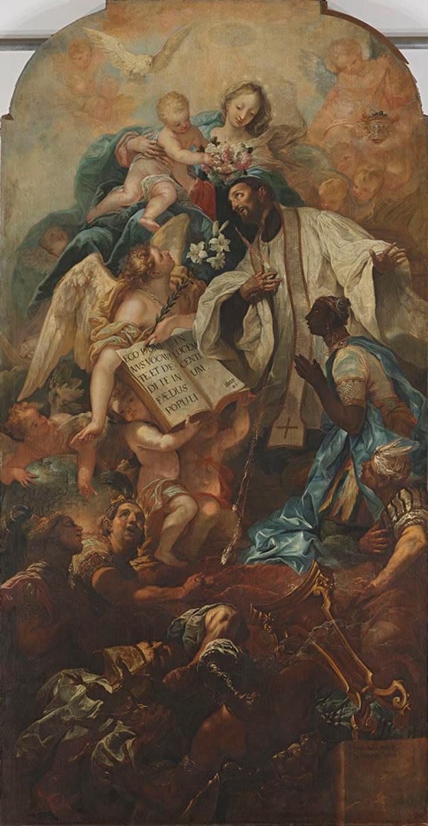 Verherrlichung des hl. Franz Xaver