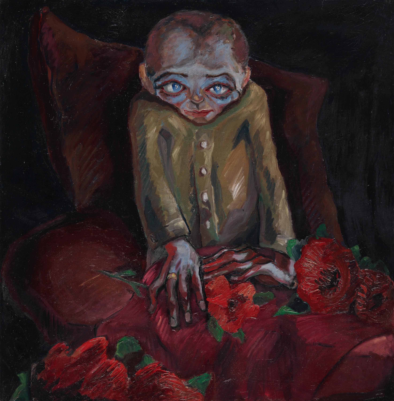 Der Kranke mit den Blumen