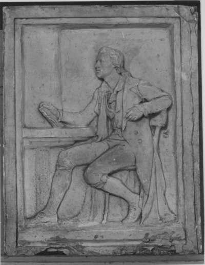 Der Dichter Friedrich Schiller (Modell für das Relief am Schillerdenkmal in Nürnberg)