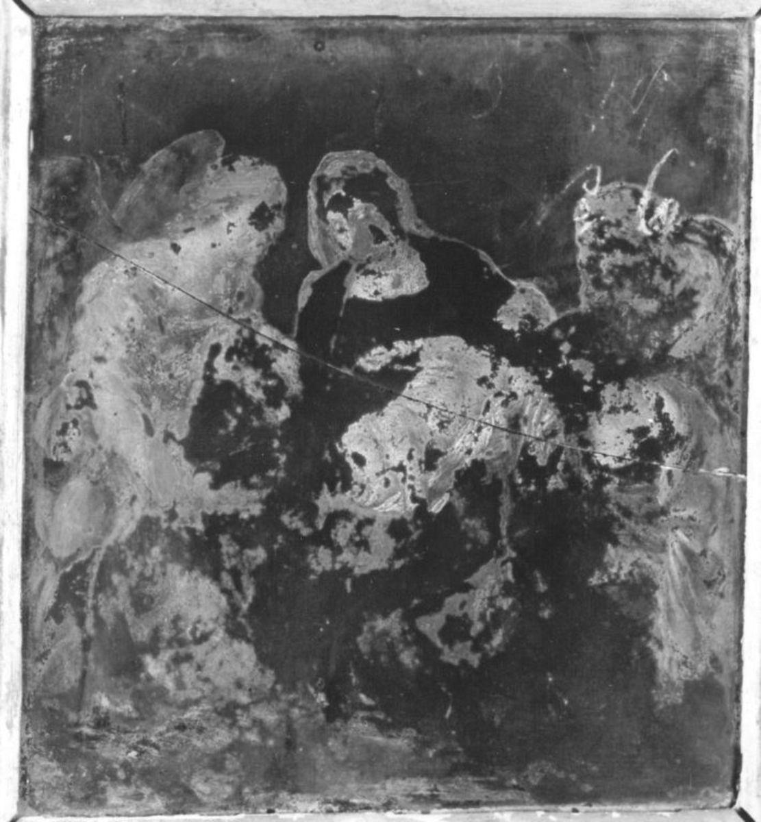 Madonna mit Kind und Hirten