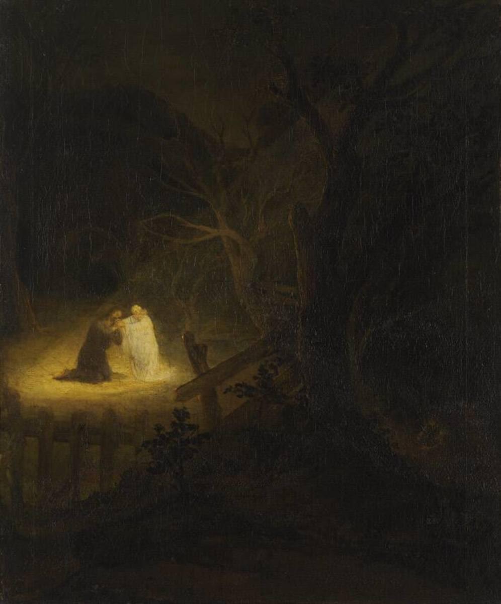 Christus am Ölberg