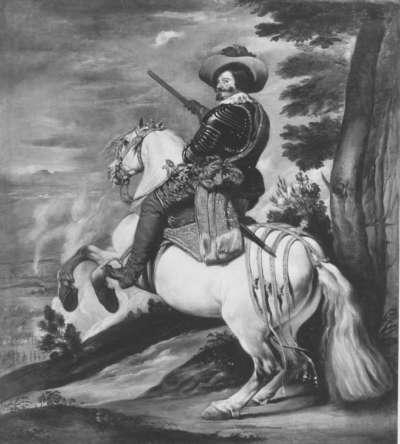 Reiterbildnis des Herzogs Olivares