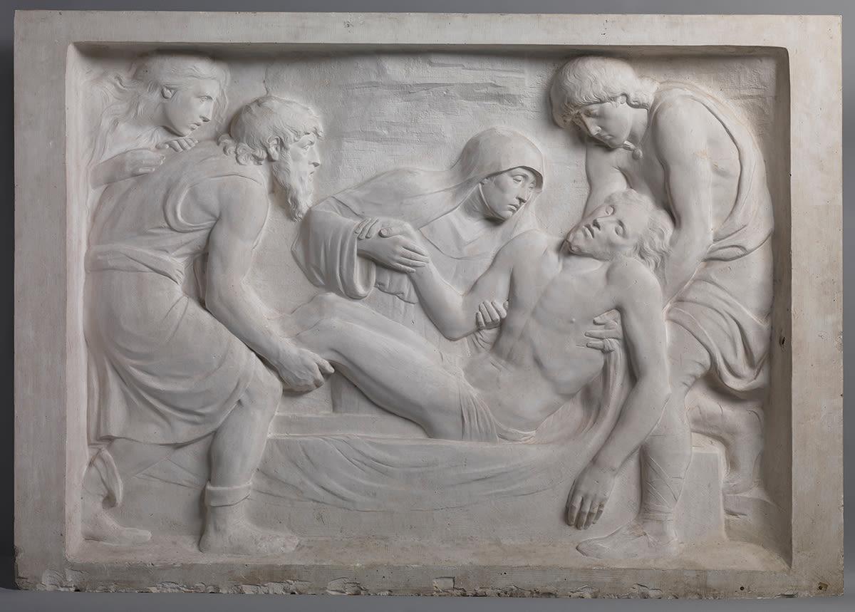 Grablegung Christi (Abguss des Reliefs vom Denkmal der Deutschen Kaiserin Viktoria Friedrich)