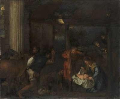 Anbetung der Hirten (nach Tizian)