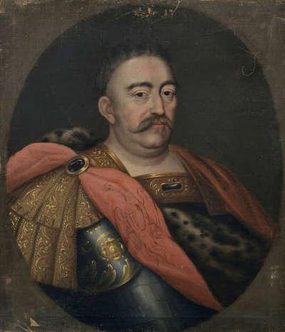 Bildnis des Königs Johann III. Sobieski von Polen