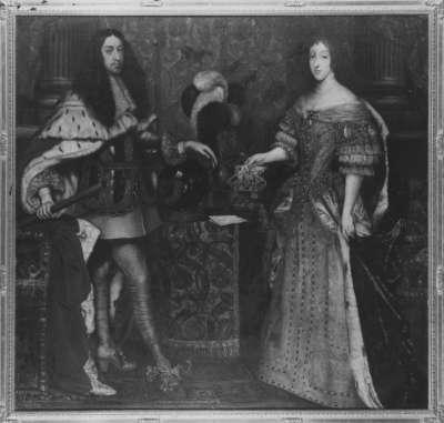 Kurfürst Ferdinand Maria und seine Gemahlin