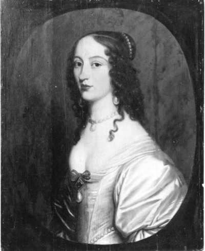 Bildnis der Magdalena von Nassau-Siegen, Gemahlin des Philipp Theodor von Waldeck