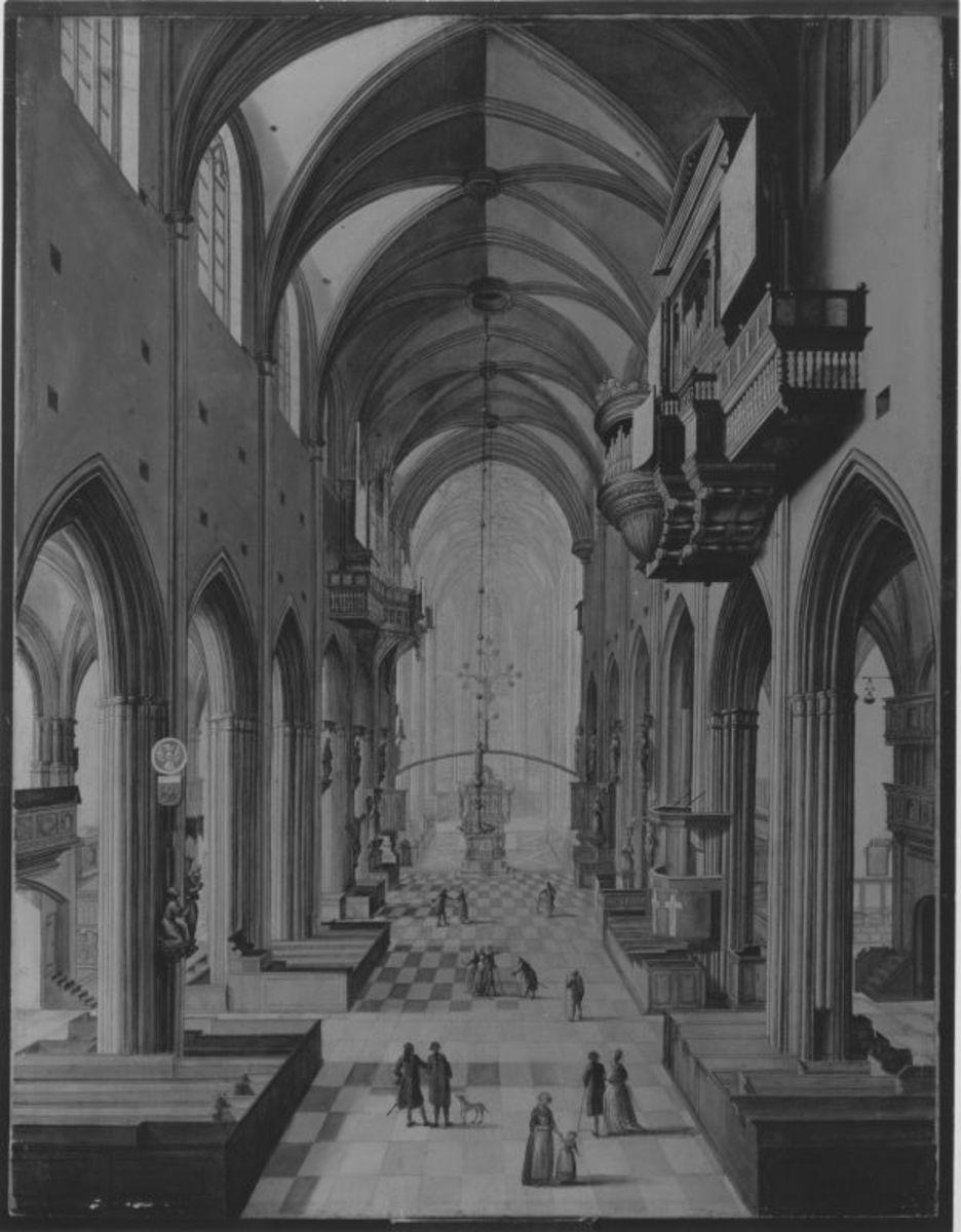 Innenansicht der St. Lorenzkirche in Nürnberg