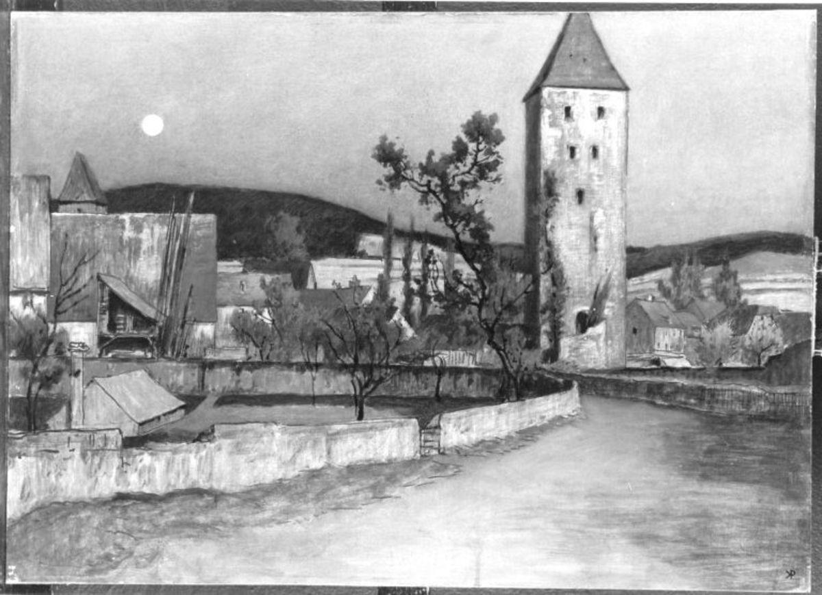 Ansicht von Gelnhausen - Der Turm II