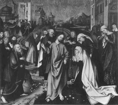 Abschied Christi von Maria