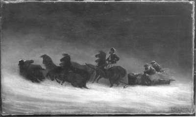Troika im Schnee