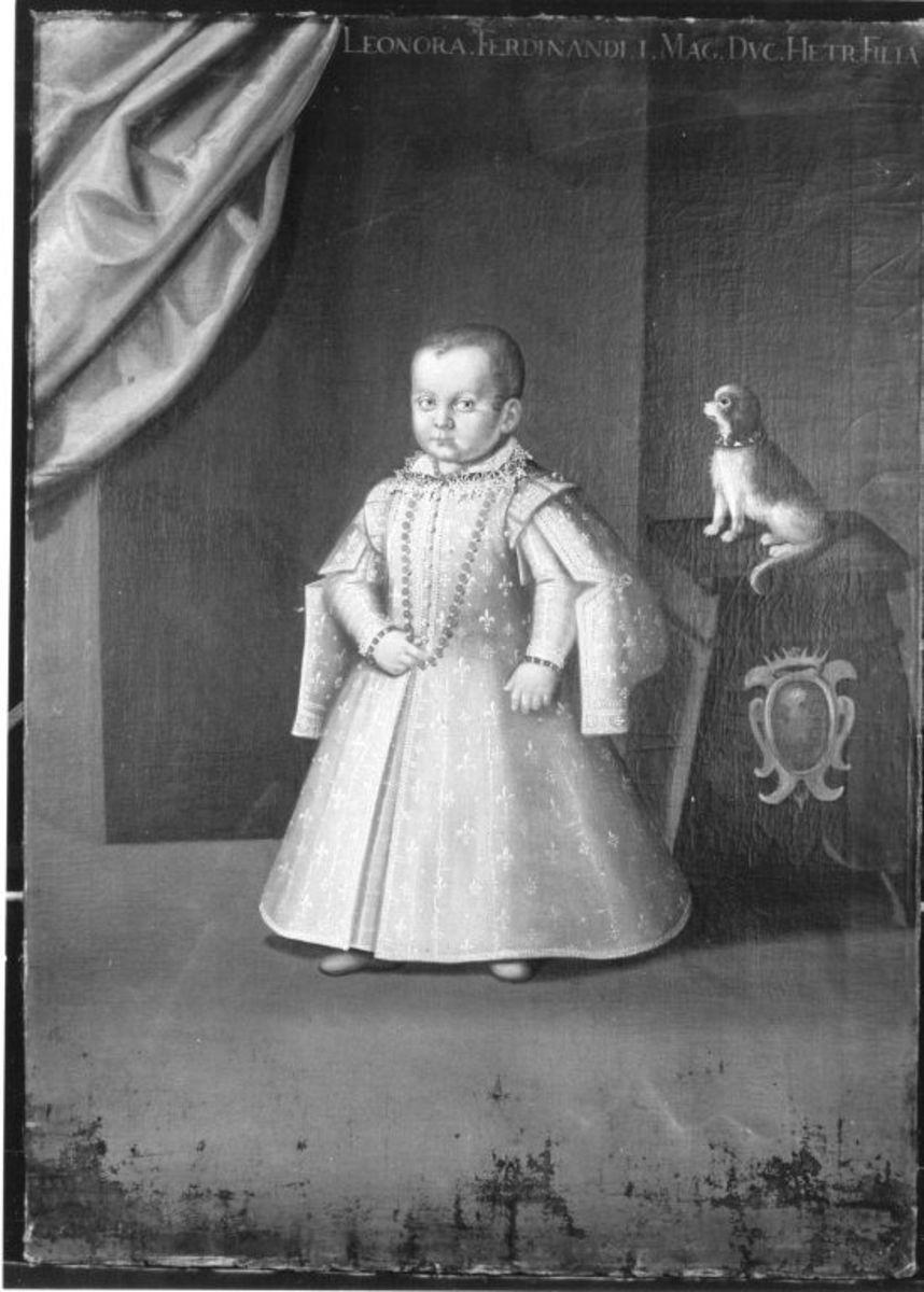 Kinderbildnis der Elionora von Toskana, Tochter des Großherzogs Ferdinand I.