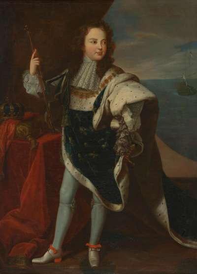 Knabenbildnis des Ludwig XV. als Dauphin