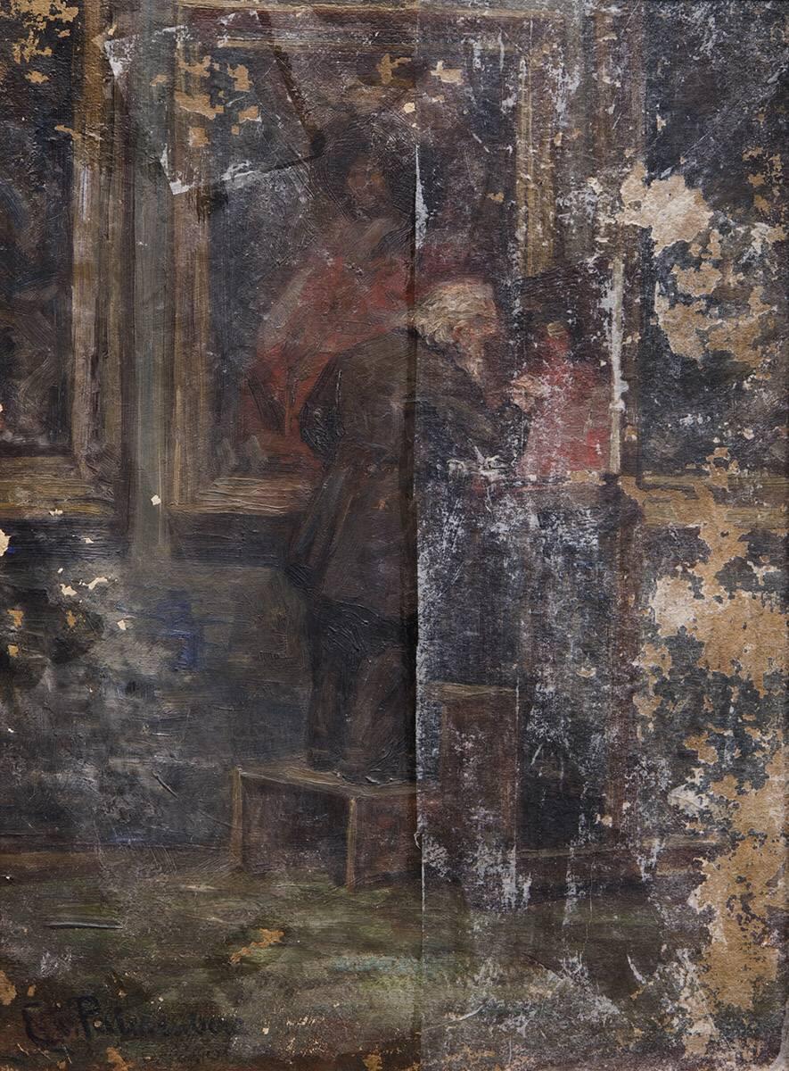 Kopist in der Alten Pinakothek
