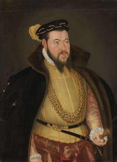 Bildnis des Pfalzgrafen Wolfgang von Zweibrücken-Veldenz-Pfalz-Neuburg