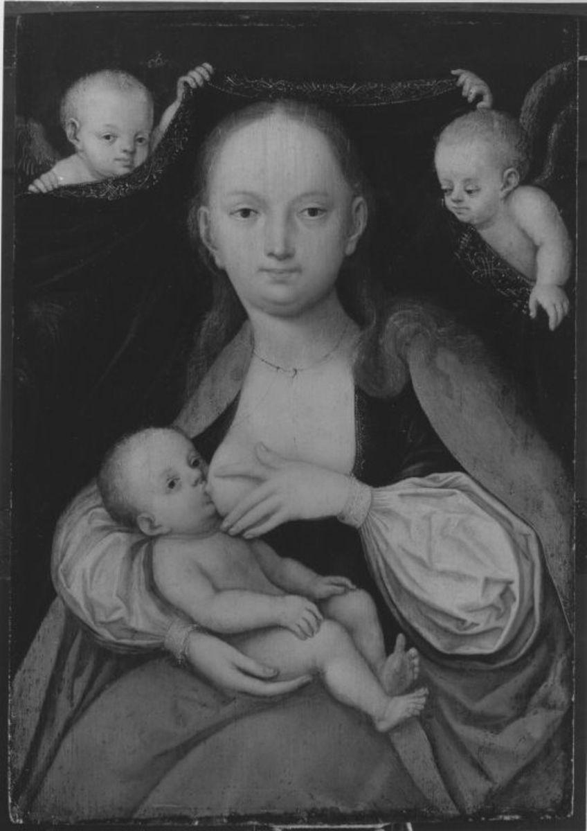 Maria mit Kind (Maria lactans)