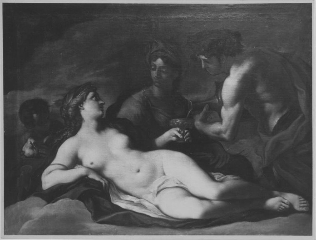 Venus mit Ceres und Bacchus