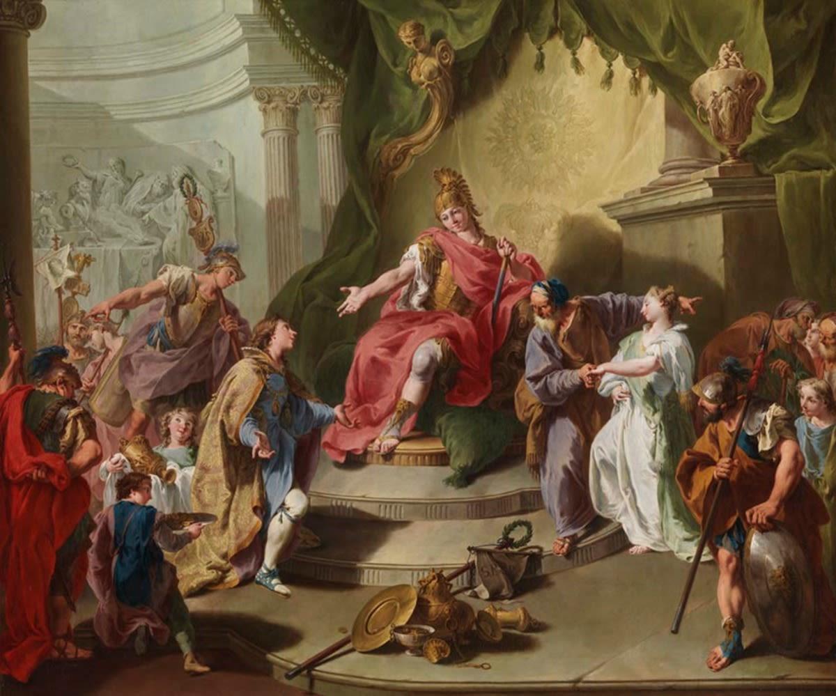 Die Großmut des Scipio