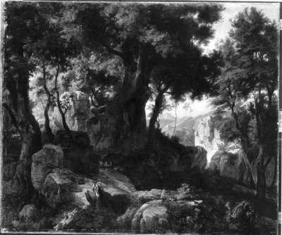Das Sabinergebirge bei Montorello