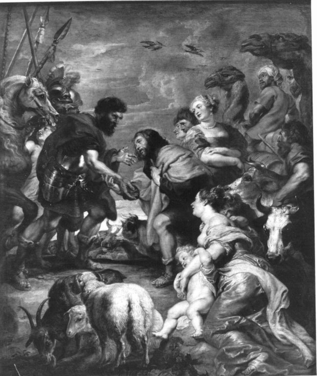 Versöhnung von Esau und Jakob