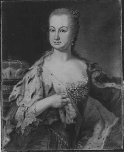 Bildnis der Elisabeth Auguste, Gemahlin des Kurfürsten Karl Theodor