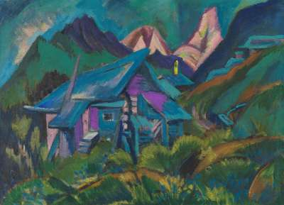 Alphütten und Tinzenhorn