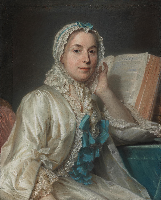 Mademoiselle Ferrand meditiert über Newton