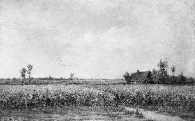 Flandrische Flachlandschaft