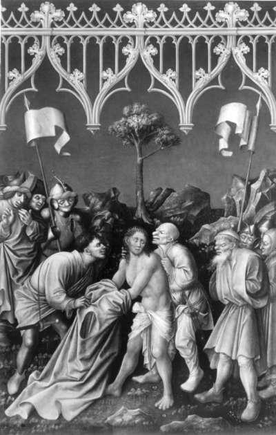 Tabula Magna: Entkleidung Christi