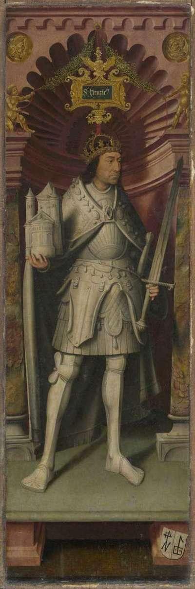Kreuzigungsaltar: Kaiser Heinrich II. der Heilige
