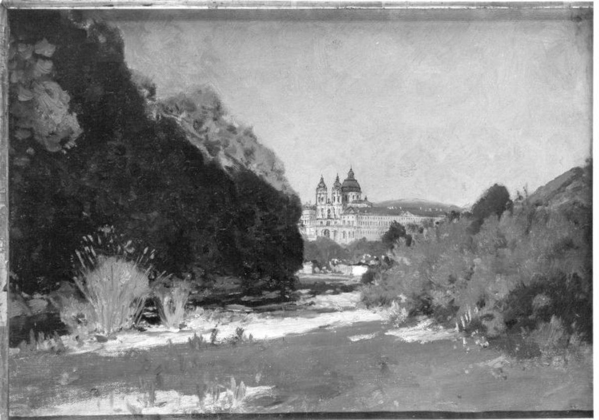 Landschaft bei Stift Melk