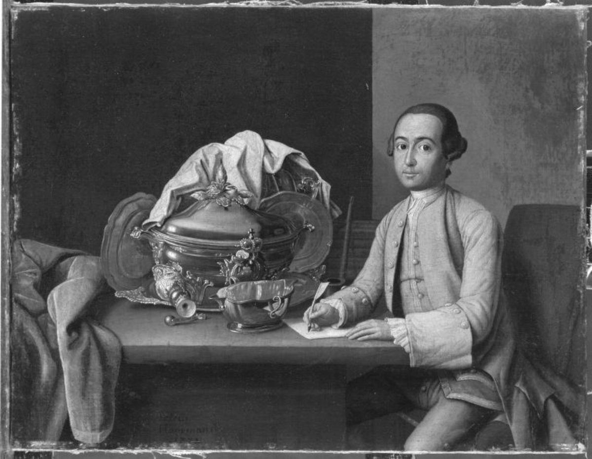 Bildnis eines Silberdieners