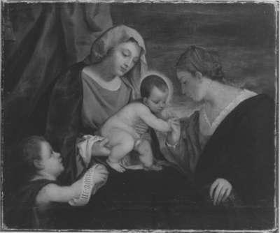 Die Verlobung der hl. Katharina