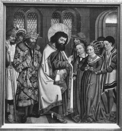 Der hl. Bartholomäus befreit die armenische Königstochter vom Teufel