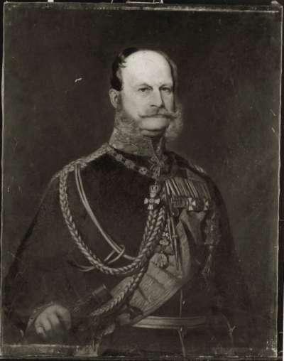 Prinz Wilhelm von Preußen mit dem Orden des Goldenen Vlieses