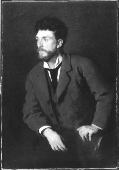 Der Maler Adolf Hölzel